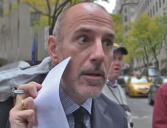 Matt Lauer Is Done: NBC Has Fired The Face Of The 'Today' Show Following Allegations Of Sexual Misconduct, Watch The Emotional Announcement Inside! (VIDEO)