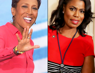 """The Internet Is Laughing Their Butts Off After Robin Roberts Disses Omarosa With A Subtle """"Bye Felicia!"""" Following Interview! (VIDEO)"""
