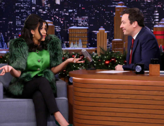 Must Watch Video: Cardi B Leaves Jimmy Fallon Speechless During Hilarious Interview