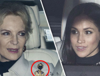 Trouble In The Land Of Royals Already? Princess Michael Wears Racially Insensitive Broach During Christmas Lunch With Meghan Markle (PHOTO)