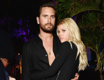 Scott Disick Is In Love With Sofia Richie? WHAT? We Got Photos Of Them Getting Close During Their First Official Appearance As A Couple