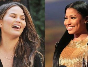 Well This Is Awkward: Chrissy Teigen Teases John Mayer With A Photoshopped Booty Photo Of Nicki Minaj