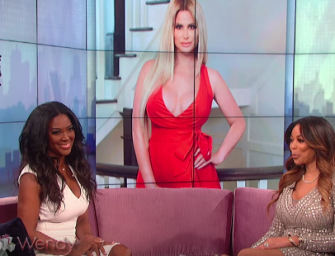 Kenya Moore on Wendy:  She Addresses Pregnancy Rumors and Throws Super Shade at Kim Zolciak.  Kim Claps Back and Reveals that Kenya's Been Fired!  (VIDEO)