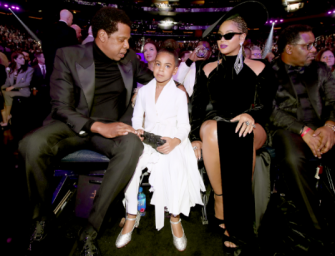 Oh Snap! Did Blue Ivy Just Hush Her Parents At The 2018 Grammys? Yes…It Happened And We Got The Video Inside!