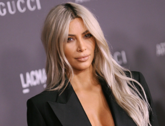Kim Kardashian Is Trying To Distract Us From Something, Posts Topless Photo On Her Instagram Account (UPDATE WITH BABY NAME)