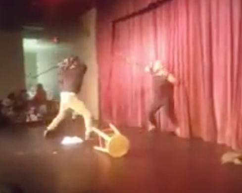 Comedian Steve Brown Gets ATTACKED On Stage…This Clip Is Insane, Watch It Inside! (VIDEO)