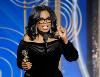 Oprah Winfrey For President? Several Celebrities Want Her To Run In 2020 After Her Golden Globes Speech (VIDEO)