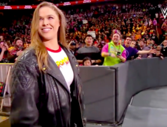 Bye Bye UFC…Hello WWE: Ronda Rousey Has Officially Joined The Wrestling Community, Signs Long Term Contract With WWE! (VIDEO)