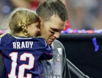 "Tom Brady Hangs Up During Radio Show Appearance After Host On The Network Calls His Kid An ""Annoying Little Pissant"" (VIDEO)"