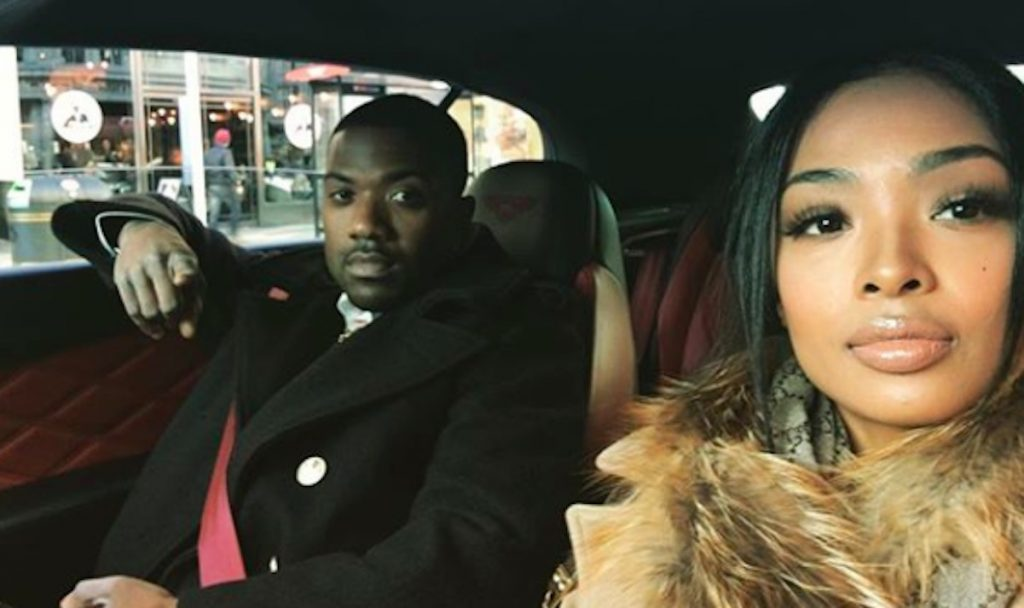 SLOW MOTION!  Ray J Posts Video That Sparks Divorce Rumors.  Is There a Girl In The Red Robe? The Slow Motion Video Answers the Question.  Princess Love's Most Recent Non-deleted Post Furthers The Rumors (VIDEO)