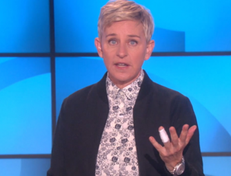Ellen DeGeneres Reveals To Her Audience That Her Father Died Earlier This Week, Watch Her Emotional Monologue (VIDEO)