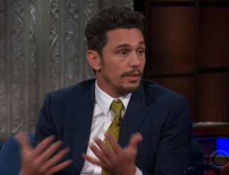 James Franco Addresses Sexual Assault Allegations On The Late Show, Watch The Stressful Interview Inside! (VIDEO)