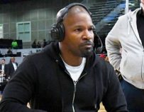 WATCH: Jamie Foxx Walks Out on ESPN Interview After Being Questioned About Basketball Valentine's Date Photo with Katie Holmes.  (BONUS VIDEO: Jamie Foxx's Epic LeBron James Impersonation)