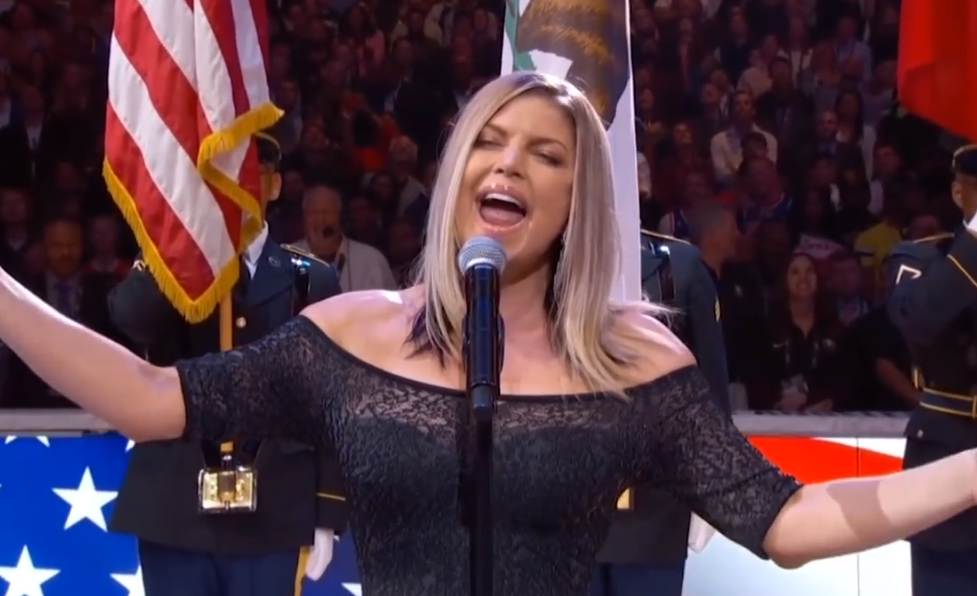 Did You Watch Fergie's Horrendous National Anthem Performance At The NBA All-Star Game? If Not, We Got The Bizarre Video Inside!