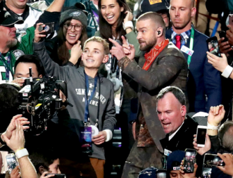 That Awkward Selfie Kid From Justin Timberlake's Super Bowl Halftime Show Is Speaking Out, And He's Thrilled To Become A Meme (PHOTO)