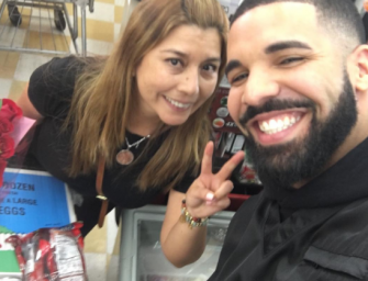 Drake Pretends He Is God, Gives Over $125,000 To Strangers For Upcoming 'God's Plan' Music Video (PHOTOS)