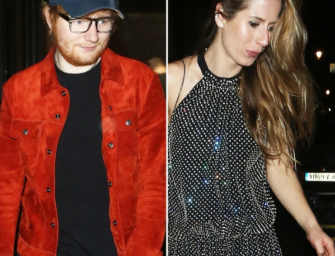 Is Ed Sheeran Married? Singer Is Spotted Wearing A Ring On THAT Finger At The BRIT Awards 2018