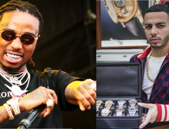 NYPD INVESTIGATION UNDERWAY: Eric Da Jeweler Accuses Migos Artist Quavo of Putting Those Paws on Him and Stealing His Jewelry!