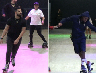 Have You Ever Wanted To Watch Drake Roller Skate To His Own Music? Well, We Have The Video You Need To Watch! (VIDEO)