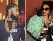 Nipsey Hussle Gives Cardi B Advice On How to Deal With Her Recent Gang Issues, Cardi Gets Offended, Posts & Deletes A Pic from the Past, Showing Fans No Advice Needed!  (Post and Video)
