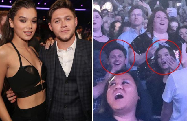 One Direction's Niall Horan And Hailee Steinfeld Continue To Fuel Those Dating Rumors, Rock The Night Away At Backstreet Boys Concert In Vegas! (VIDEO)