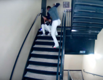 DISTURBING VIDEO: Professional Baseball Player Caught Beating His Girlfriend On Stadium Surveillance