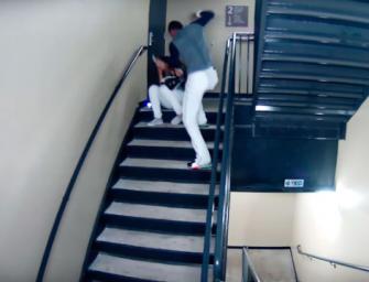 DISTURBING VIDEO: Professional Baseball Player Caught Beating His Girlfriend On Stadium Surveillance