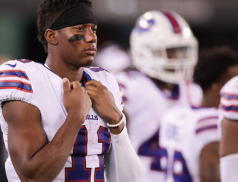 """What In The World: Buffalo Bills WR Zay Jones Arrested After Losing His Mind Inside Apartment Building, Video Shows Him Completely Naked And Yelling, """"I'M GOING TO FIGHT FOR JESUS"""" (VIDEO)"""