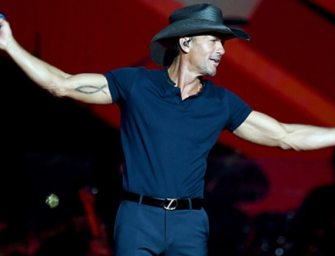 Tim McGraw Collapses On Stage During Concert In Ireland, Faith Hill Jumps On Stage To Let Audience Know The Show Is Over (VIDEO)