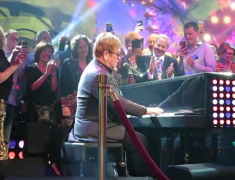 WATCH: Elton John Storms Off Stage In Vegas After Fans Get Handsy During 'Saturday Night' HE WAS PISSED! (VIDEO)