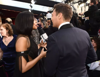 Ryan Seacrest Did Not Have A Good Night At The Oscars Red Carpet, Best Actress Nominees Ignore Him And Did Taraji P. Henson Put A Curse On Him? (VIDEO)