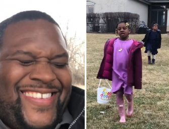 Cruel Or Just Good Fun? Ex-NFL Player Anthony 'Spice' Adams Pranks His Kids On Easter By Letting Them Go On An Impossible Easter Egg Hunt! (VIDEO)