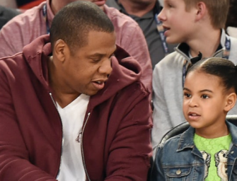 Jay Z Reveals The Most Beautiful Thing Blue Ivy Once Told Him On Their Way To School (VIDEO)
