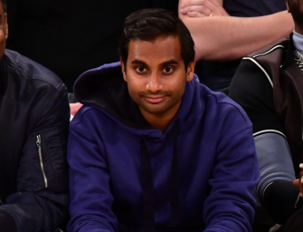 Aziz Ansari Is Alive! The Comedian Makes His First Public Appearance Since The Sexual Harassment Claim Against Him Came Out (PHOTO)