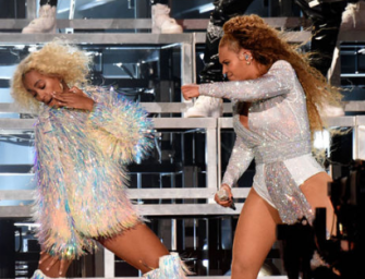 Beyonce And Solange Take A Tumble Together Onstage At Coachella, But Not Before Dancing Their Butts Off! (VIDEO)