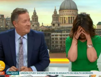 Things Get Awkward On 'Good Morning Britain' After Piers Morgan Tells Pamela Anderson He's Never Had Bad Sex (VIDEO)
