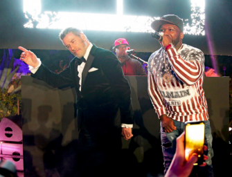 What The Hell Is Happening: Watch John Travolta Dance On Stage With 50 Cent At The Cannes Film Festival (VIDEO)