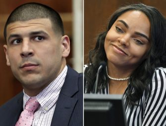 Hol'lup!  Aaron Hernandez's Fiancée Gives Birth To a Baby Girl With One of Aaron's Old Friends!? Already?