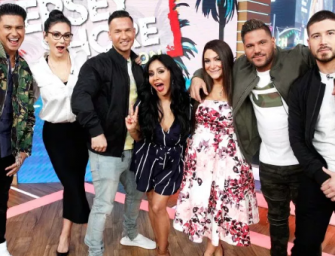 The Second Season Of 'Jersey Shore: Family Vacation' Is Currently Filming In Vegas, And Ronnie Almost Got Into A Fist Fight With Drunk Guy (VIDEO)