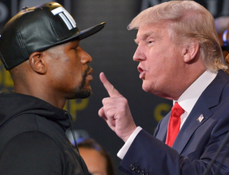 Floyd Mayweather Says He Is NOT Friends With Donald Trump…He Simply Knows Him (VIDEO)