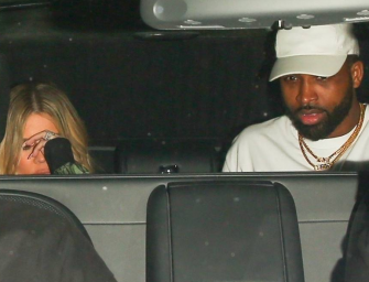 Tristan Thompson Goes Out On Double Date, And This Time It's Actually With His Girlfriend Khloe Kardashian!