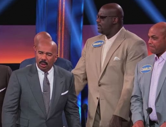 Charles Barkley Is A Fool, Gives The Worst (But Somehow Right) Answer On Celebrity Family Feud…MUST WATCH HILARIOUS! (VIDEO)
