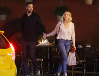 Jennifer Lawrence Has Herself A New Man, Spotted Kissing Cooke Maroney During Dinner Date In New York City (PHOTO)
