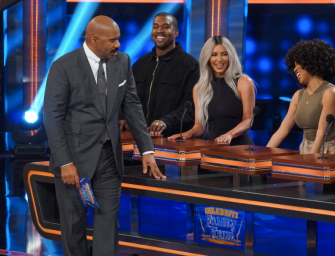 Did Y'all See Kanye West On Family Feud? The Dude Could Not Stop Smiling…WHO IS THIS KANYE AND WHY DON'T WE SEE MORE OF HIM? (VIDEO)