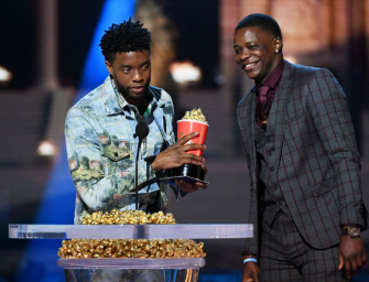 Feel Good Video: Chadwick Boseman Gives His MTV Award To The Real Life Waffle House Superhero (VIDEO)