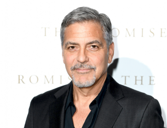 George Clooney Hospitalized After Being Hit By A Car While Riding On A Scooter In Italy (PHOTO)