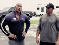 Dwayne Johnson Surprises His Longtime Stunt Double With A Brand New Truck, Watch The Heartwarming Video Inside!
