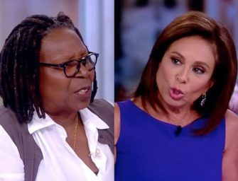 MORE DRAMA BACKSTAGE: Judge Jeanine Pirro says that Whoopi Cursed Her Out, Spit on Her and Threw Her Out; Whoopi sets the record straight. (VIDEO)