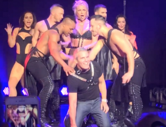 AWKWARD AF: Andy Cohen Jumps On Stage During Britney Spears Concert, And It's Clear She Did Not Know Who He Was (VIDEO)