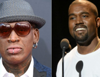 Dennis Rodman Wants To Take Kanye West To North Korea With Him So He Can Write A Song About The Experience